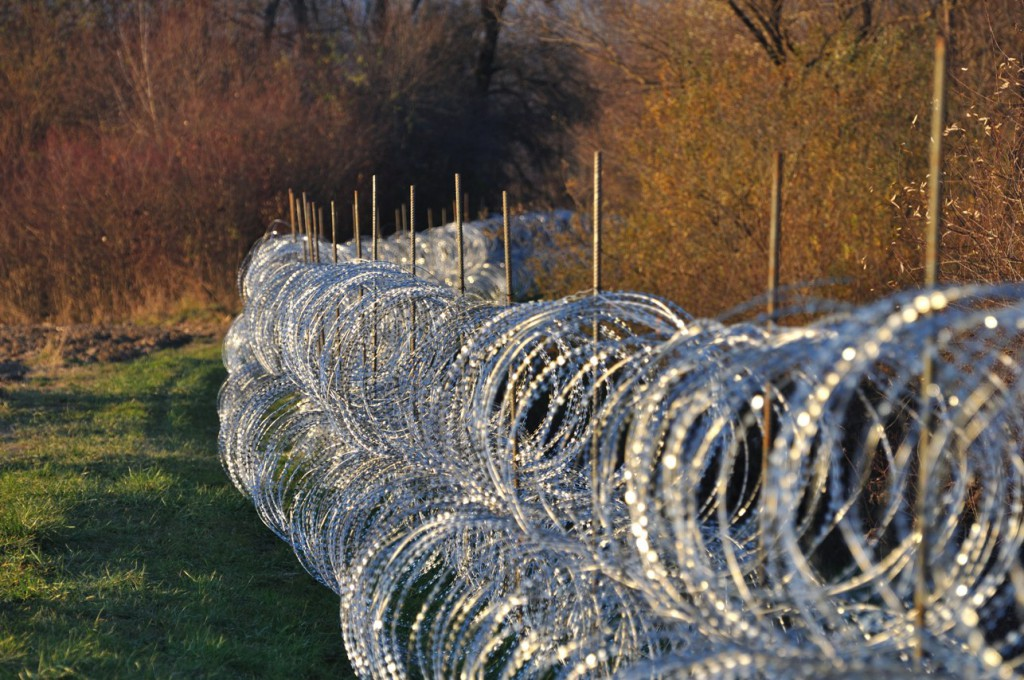 New border fence by Rigonce