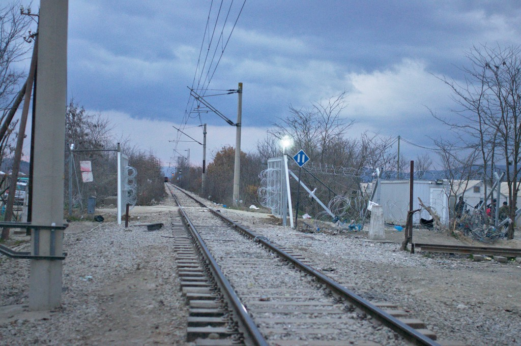 Train tracks to Macedonia